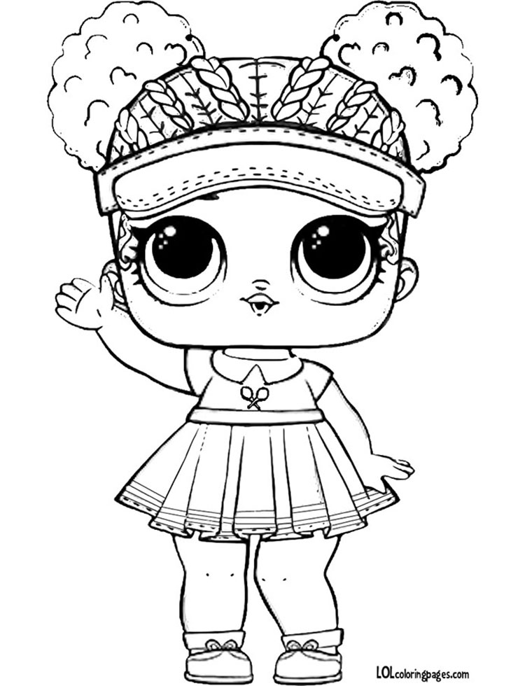Lol Doll Printable Coloring Pages Doll Exposition Doll Art