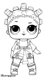 Fresh LOL Doll Coloring page