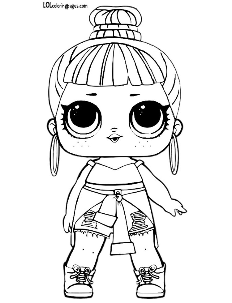 Cool Coloring Pages Lol Dolls Coloring Pages