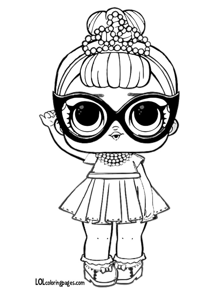 It baby coloring page lol surprise doll coloring pages for Lol surprise da colorare