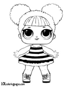 Lol Dolls Coloring Pages Design Templates