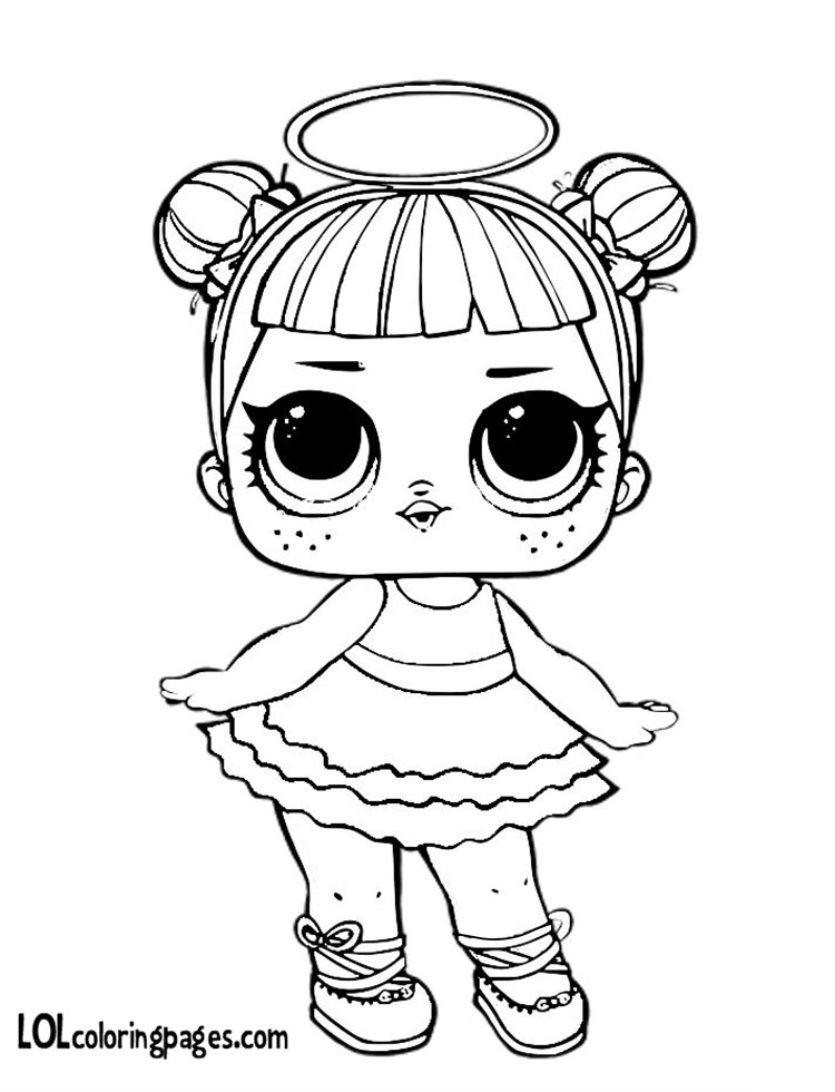 Coloring Pages With Dolls