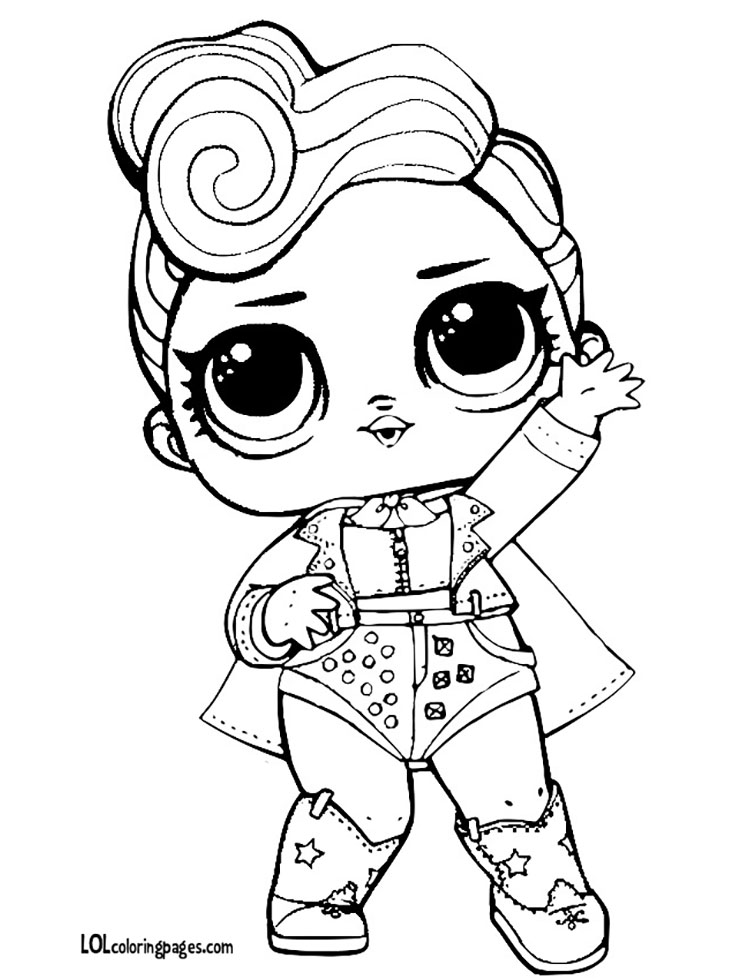 Lol Surprise Doll Sheets Coloring Pages