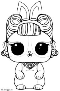 Jitter Critter Coloring Page – LOL Surprise Doll Coloring Pages