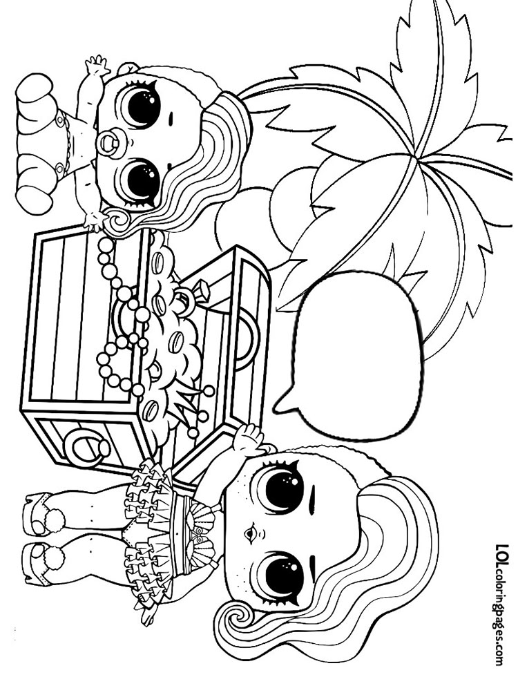 treasure found treasure coloring page lol surprise doll coloring pages
