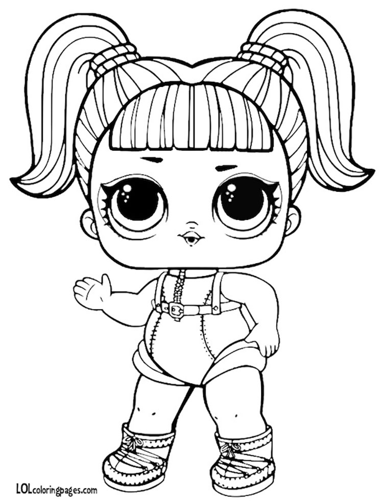 dusk lol doll coloring pages | Lol Dolls Lux Sheets Coloring Pages