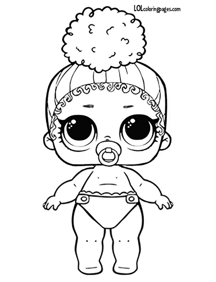 Lil Boss Queen Jpg 554 1 024 Pixels Coloring Pages Lol Dolls Lol