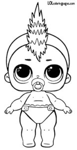 lil punk boi series 3 wave 2 lol surprise doll coloring page - Colring 2